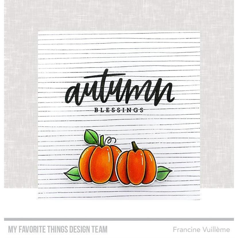 Lined by Hand, My Favorite Things Cling Stamps - 849923035818