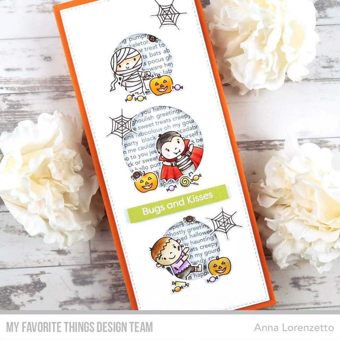 Ghoulish Greetings, My Favorite Things Cling Stamps - 849923036525