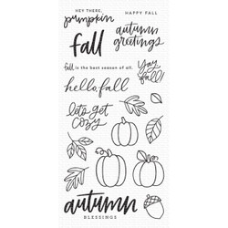 Autumn Blessings, My Favorite Things Clear Stamps - 849923036143
