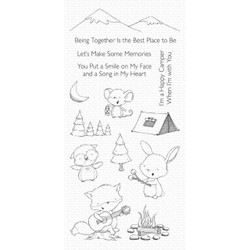 Happy Campers by Stacey Yacula, My Favorite Things Clear Stamps - 849923036112