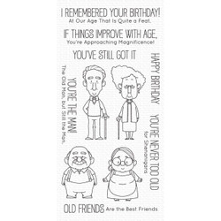 Old Friends by Birdie Brown, My Favorite Things Clear Stamps - 849923036136