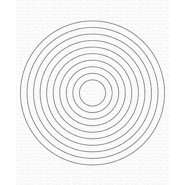 A2 Circle STAX, My Favorite Things Die-Namics - 849923036389