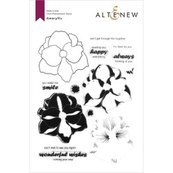 Amaryllis, Altenew Clear Stamps - 737787267905