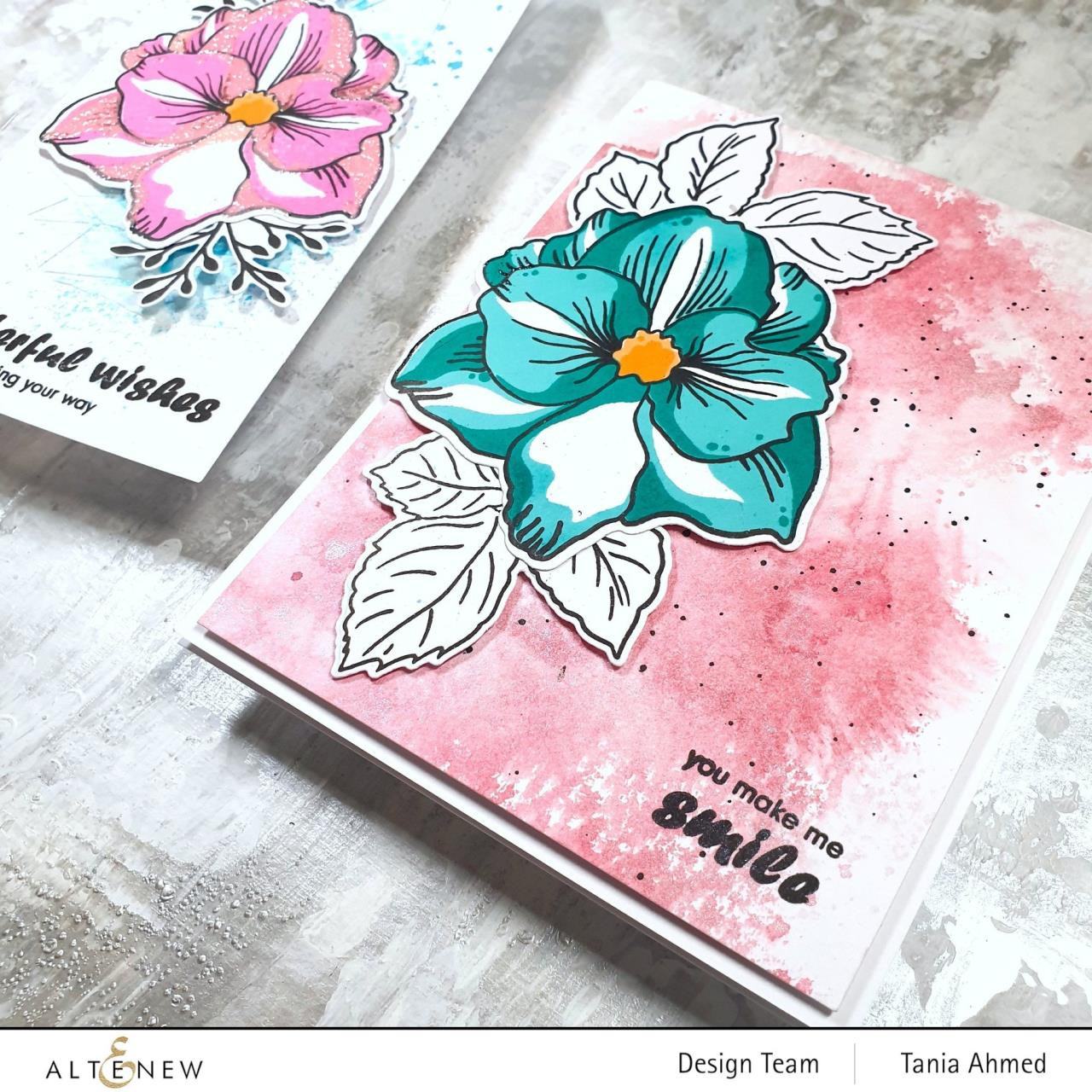 Amaryllis, Altenew Clear Stamps - 737787267905