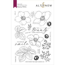 Beauty Within, Altenew Clear Stamps - 737787267967