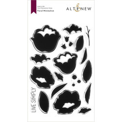 Floral Minimalism, Altenew Clear Stamps - 737787268094