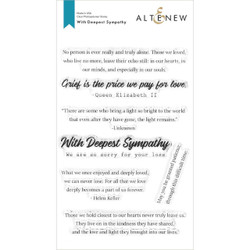 With Deepest Sympathy, Altenew Clear Stamps - 737787268179