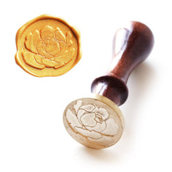 Wax Seal Stamp: Blooming Bud, Altenew - 737787263976
