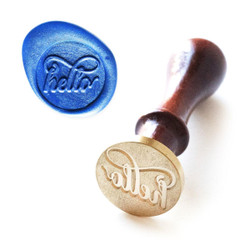 Wax Seal Stamp: Just Hello, Altenew - 737787263983