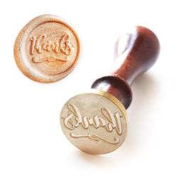 Wax Seal Stamp: Just Thanks, Altenew - 737787263990