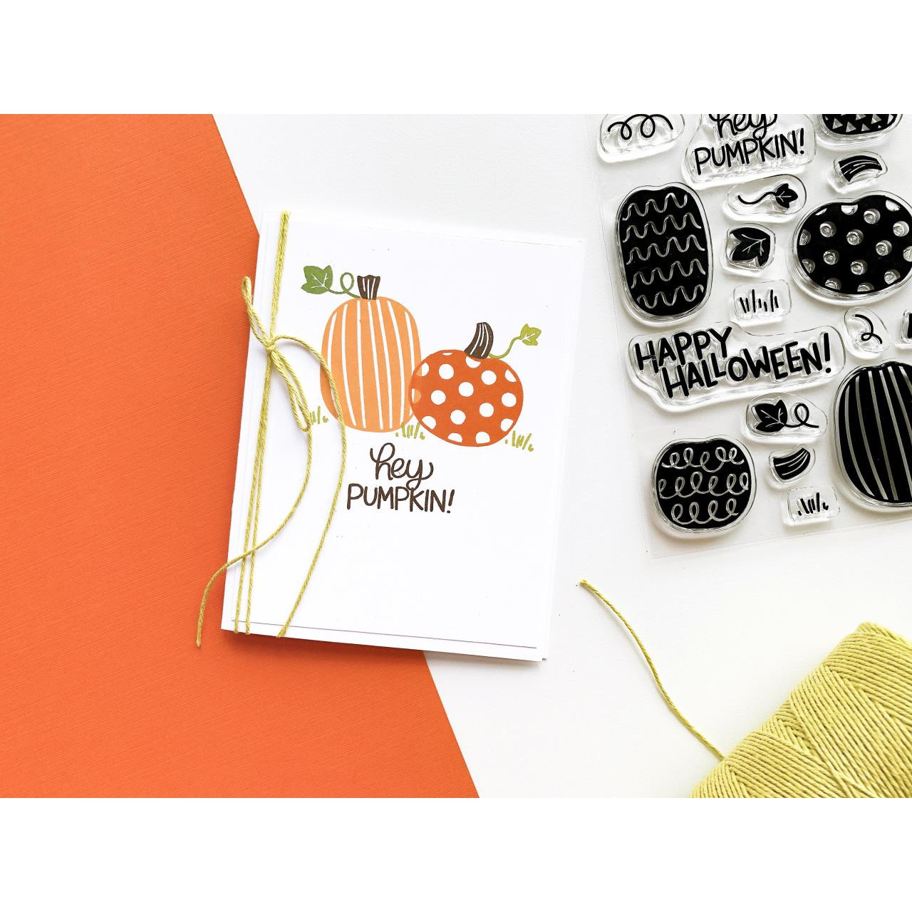 Hey Pumpkin, Catherine Pooler Clear Stamps - 819447028092