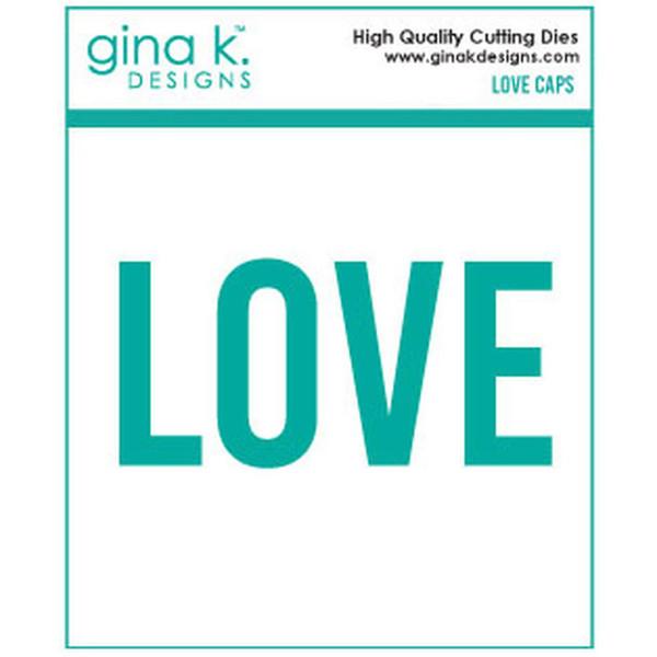 Love Caps, Gina K Designs Dies - 609015526866