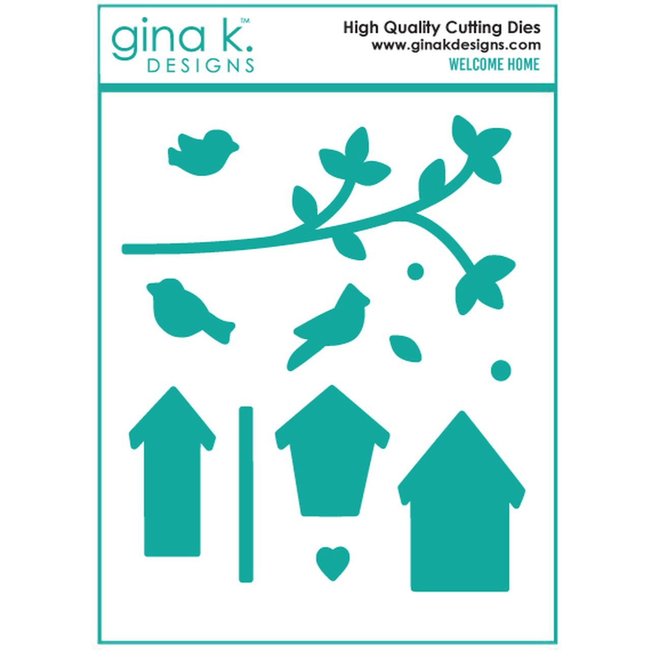 Welcome Home, Gina K Designs Dies - 609015526729