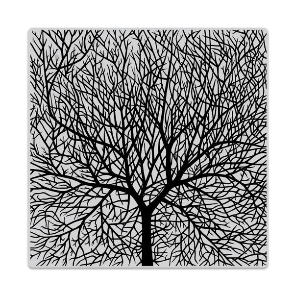 Bare Branched Tree Bold Prints, Hero Arts Cling Stamps - 085700927901