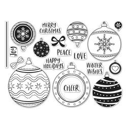 Ornament Peek-A-Boo Infinity Parts, Hero Arts Clear Stamps - 085700927796