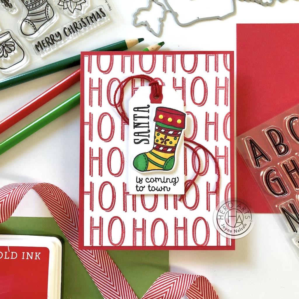 Shadowed Letter, Hero Arts Clear Stamps - 085700927673