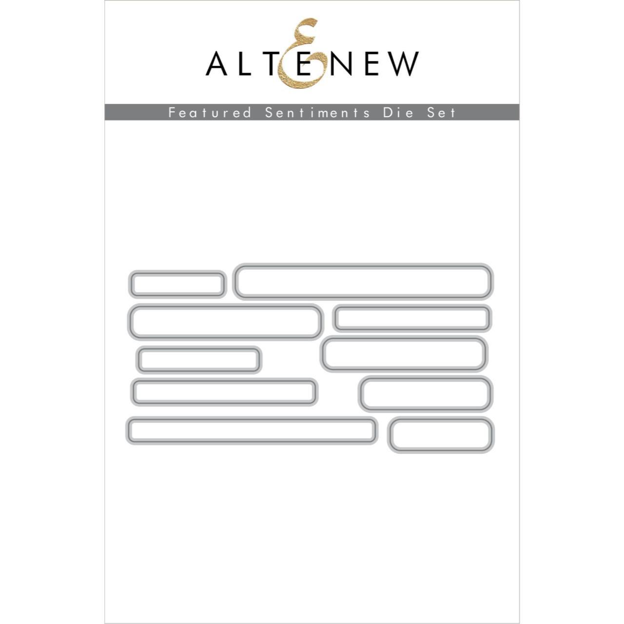 Featured Sentiments, Altenew Dies - 737787268353