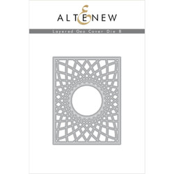 Layered Geo Cover B, Altenew Dies - 737787268377