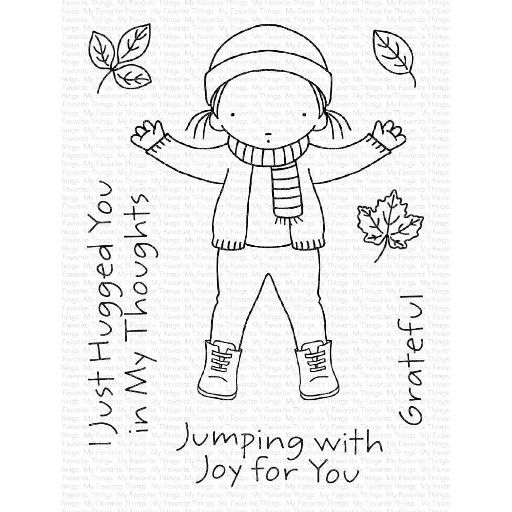 Pure Innocence - Jumping with Joy, My Favorite Things Clear Stamps - 849923036327