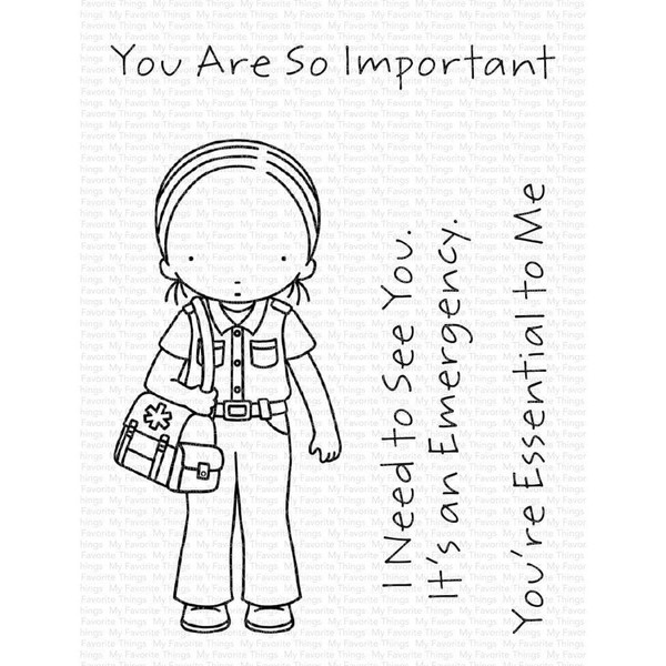 Pure Innocence - You're Essential, My Favorite Things Clear Stamps - 849923036297