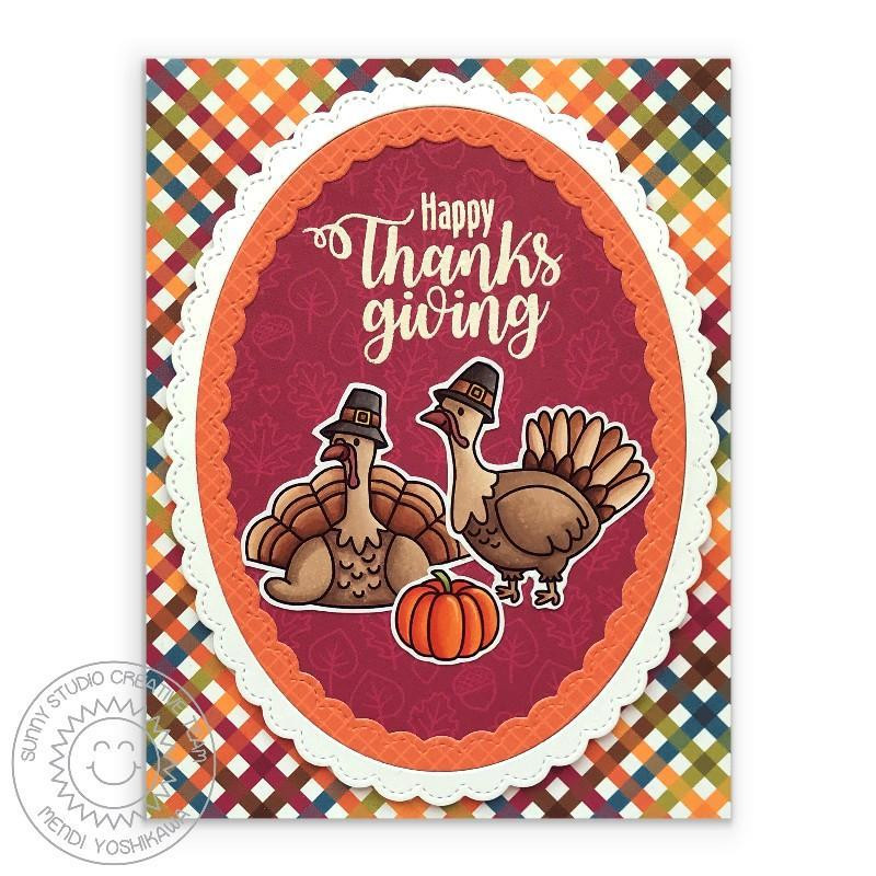Bountiful Autumn, Sunny Studio Clear Stamps -