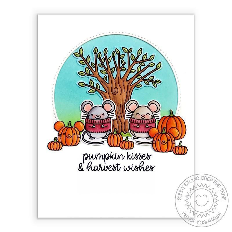 Harvest Mice, Sunny Studio Clear Stamps -