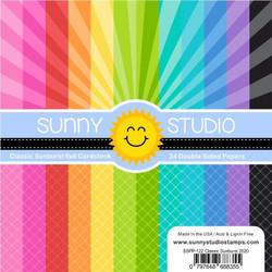 Classic Sunburst, Sunny Studio 6 X 6 Paper Pad -