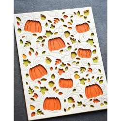 Autumn Breeze Plate Layer, Birch Press Design Dies -