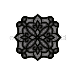 Arabic Layered Ornament, Alexandra Renke Dies -