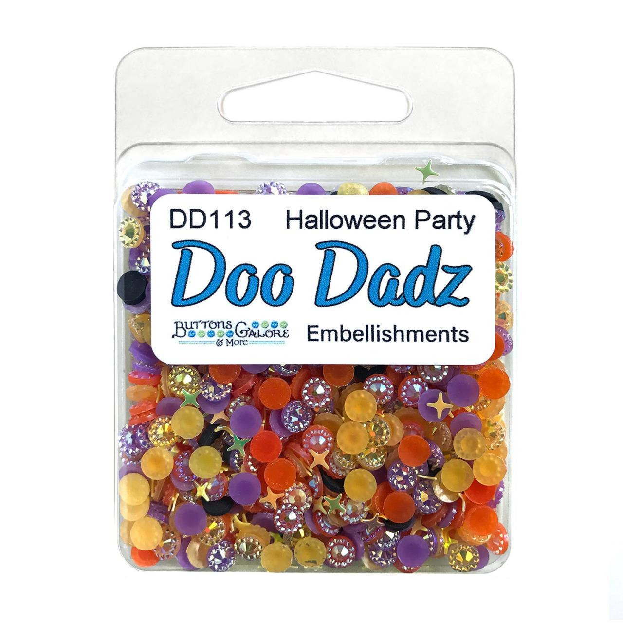 Halloween Party, Buttons Galore Doo Dadz -