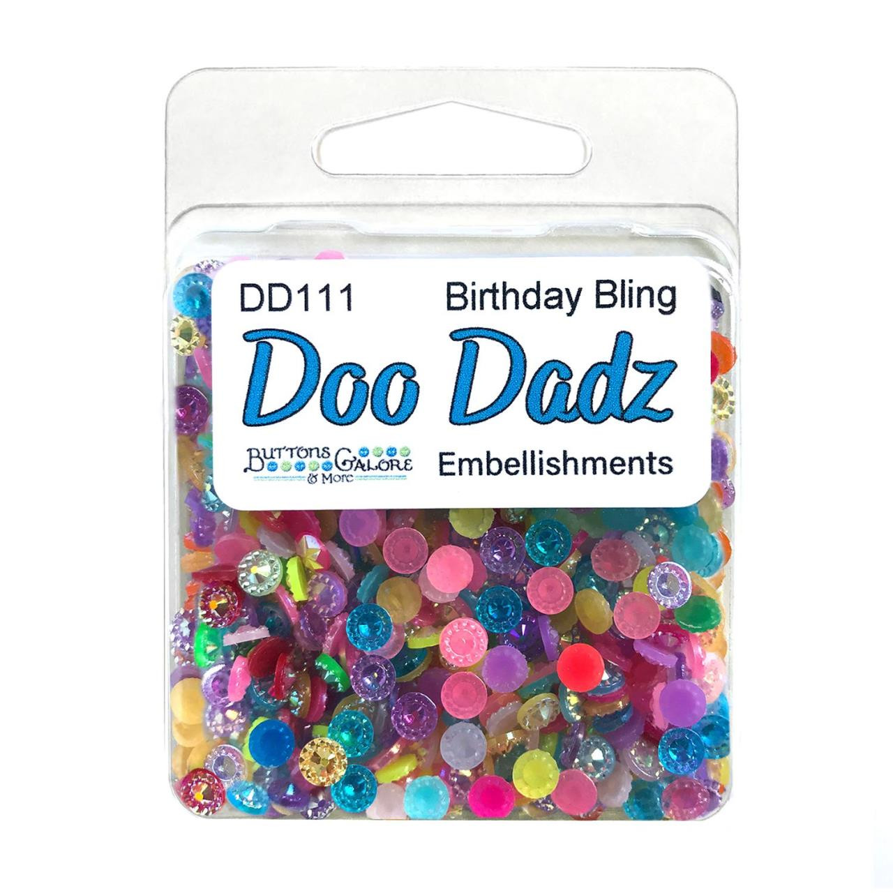 Birthday Bling, Buttons Galore Doo Dadz -