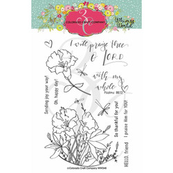 My Whole Heart, Colorado Craft Company Clear Stamps -