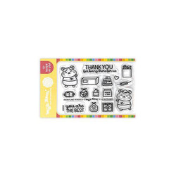 Frontline Heroes 3, Waffle Flower Clear Stamps -