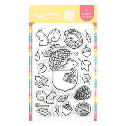 Home Sweet Home, Waffle Flower Clear Stamps -
