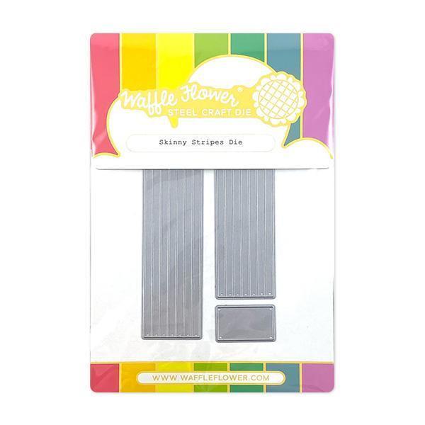 Skinny Stripes, Waffle Flower Dies -