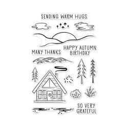 Happy Autumn Forest, Hero Arts Clear Stamps - 085700928311