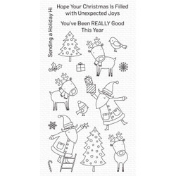 Joyous Holiday, My Favorite Things Clear Stamps - 849923036709