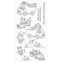 Loads of Joy, My Favorite Things Clear Stamps - 849923036730