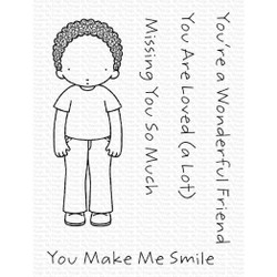 Pure Innocence - Wonderful Friend, My Favorite Things Clear Stamps - 849923036747
