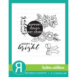 Lantern Additions, Reverse Confetti Clear Stamps -