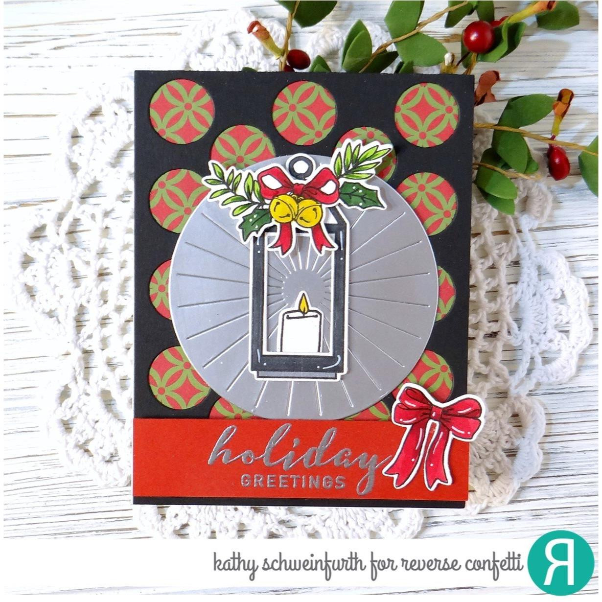 Lanterns, Reverse Confetti Clear Stamps -