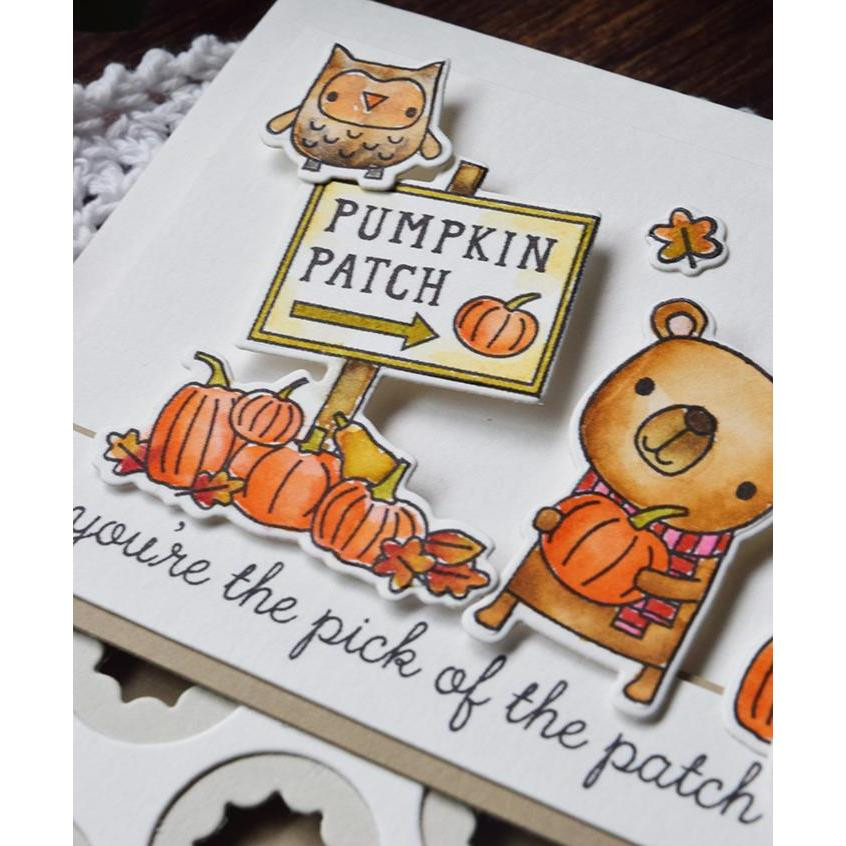 Pick of the Patch, Reverse Confetti Clear Stamps -