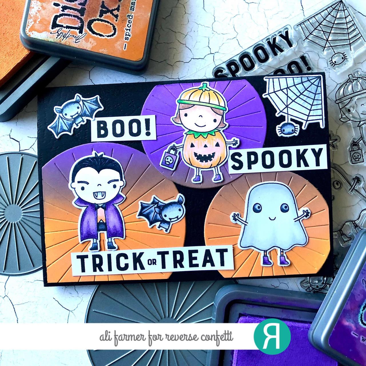 Spooktacular, Reverse Confetti Cuts -