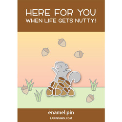 Nuts About You, Lawn Fawn Enamel Pins - 035292676718