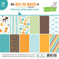 Into the Woods Remix, Lawn Fawn Petite Paper Pack - 035292676039