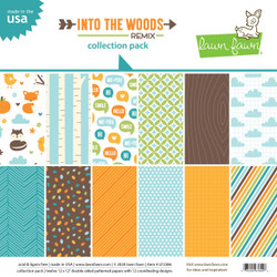 Into the Woods Remix, Lawn Fawn Collection Pack - 035292676046