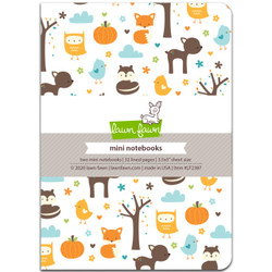 Into the Woods Remix - Mini Notebooks, Lawn Fawn - 035292676053