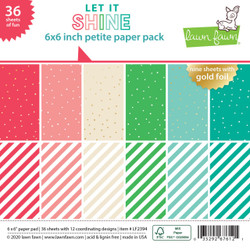 Let It Shine, Lawn Fawn Petite Paper Pack - 035292676121