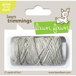 Glow-in-the-Dark, Lawn Fawn Hemp Cord - 035292676152