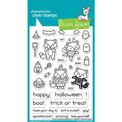 Fox Costumes Before 'N Afters, Lawn Fawn Clear Stamps - 035292676176